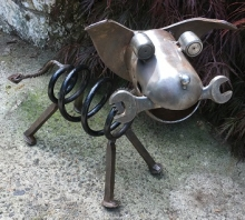 Spring Bone Dog